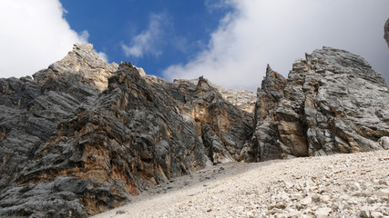Rocce e pietre in Dolomiti