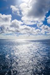 Pacific ocean seascape, New Zealand