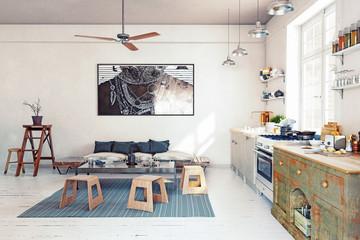 design  kitchen interior.