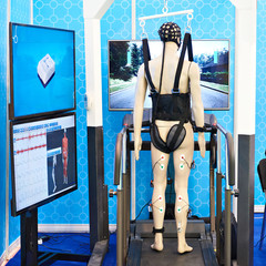 Medical biomechanical sensors for rehabilitation of patients with musculoskeletal problems