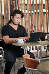 Cafe Internet User