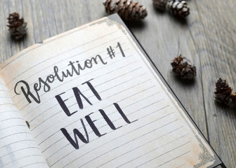 Resolution No. 1 EAT WELL
