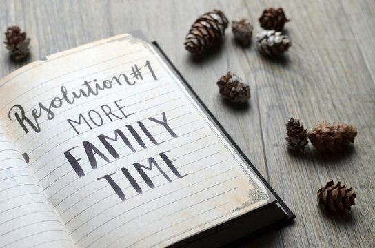 MORE FAMILY TIME Resolution No. 1