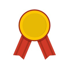 Award icon. Flat illustration of award vector icon isolated on white background