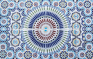 Moroccan Tile - Islamic Art, Fes