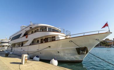Yacht in Trogir