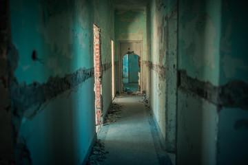 Abbruchreifes Gefängnis auf Goli Otok Kroatien