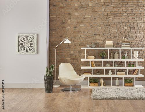 Vertical Bookshelf And Library Corner Decor Modern Home Design Frame