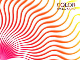Abstract color wave lines design element. Vector illustration EPS10.