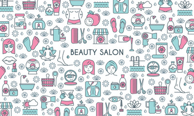 beaty salon banner