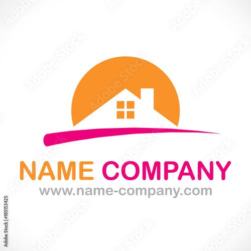 Logo maison individuelle bbc constructeur artisan for Artisan constructeur maison individuelle