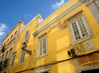 Architecture of Faro, Algarve, Portugal