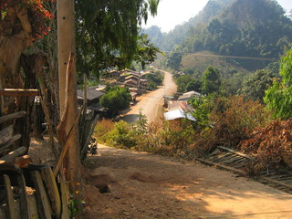 Tailandia. Aldea de Sop Pong en Mae Hong Son (Asia)