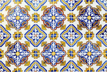 Portuguese tiles, azulejos de padrão, Faro, Portugal