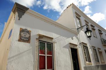Rua do Município em Faro, Algarve, Portugal