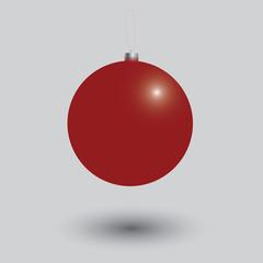 Christmas balls colored.