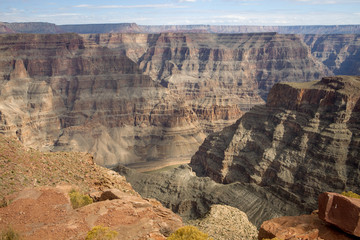 The West Rim of the Grand Canyon in Arizona