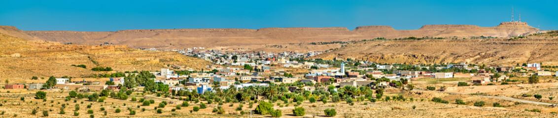 Keuken foto achterwand Tunesië Panorama of Tataouine, a city in southern Tunisia