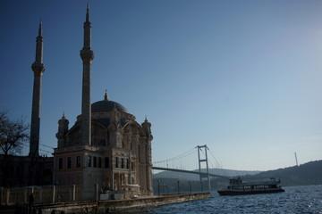 Ortakoy Mosque and Bosphorus View