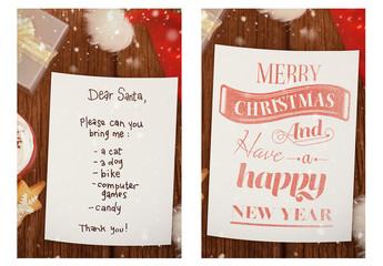 Letter to Santa Mockup