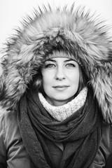 Portrait of siberian woman.