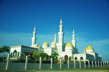 Exterior of mosque in Cotabato Philippines photo