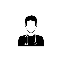 Doctor avatar Icon. Characters of professions Icon. Premium quality graphic design. Signs, symbols collection, simple icon for websites, web design, mobile app