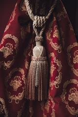 Ornate curtain tassel