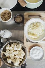 Ingredients for Cauliflower Cooking