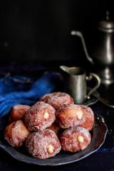 Homemade mini donuts