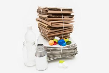資源ゴミ リサイクル 環境イメージ