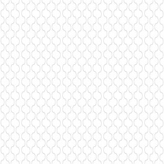 Vertical thin wavy lines vector seamless pattern. Subtle dark texture