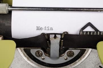 Press freedom concept