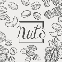 Organic Nuts food