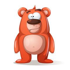 Cute, funny bear characters.