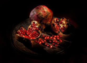 Pomegranate Christmas Decoration