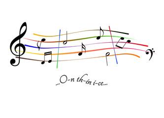 Musical score On thin ice