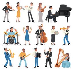 Musician Icon Set