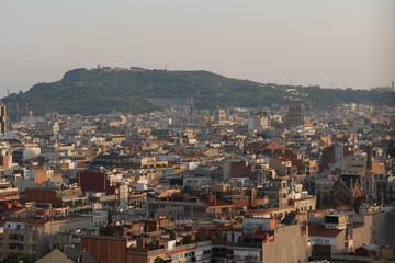 View From Sagrada Familia Barcelona