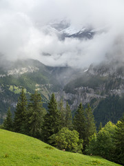 Mountains in Interlaken, Switzerland