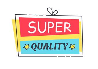 Super Quality Promo Sticker in Square Shape Frame