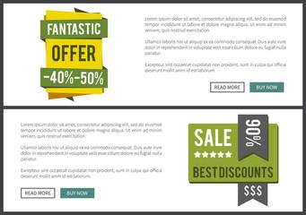 Fantastic Offer and Sale Best Vector Illustration