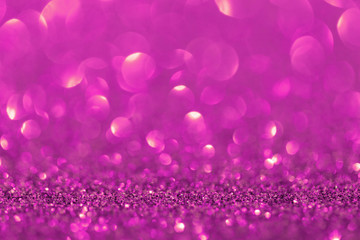 abstract purple twinkled christmas background