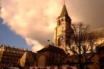 Eglise de Saint Germain des Prés à Paris