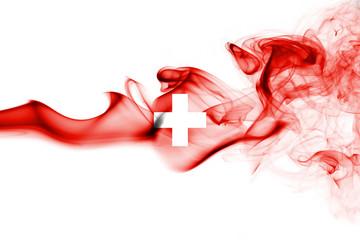 Switzerland smoke flag Wall mural