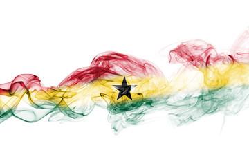 Ghana smoke flag