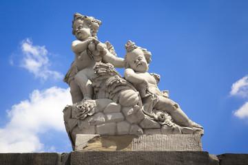 sweet children figure statue Bamberg Germany