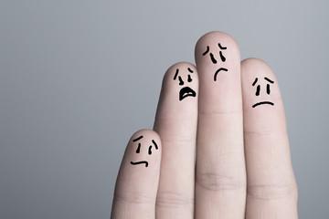 Sad emotions