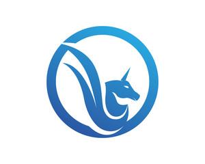 Horses Logo Template Vector symbols animals icons app