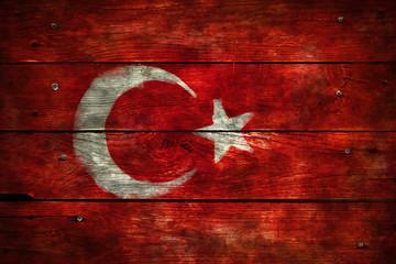 Wall Mural - türkische flagge